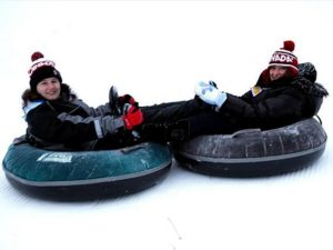 SNOW TUBINGIn Huntsville (10 minutes) Rock Ridge Tubing Park offers 7 tubing runs and a lift back up the hill.